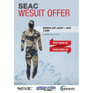 Seac Murena Open Cell Wetsuit 3.5mm