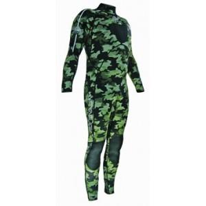 Adrenlin Green Camo Wetsuit